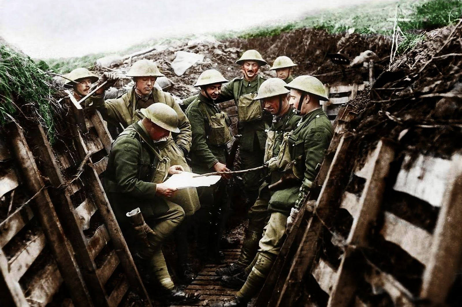 a history of the trench warfare in world war one a global conflict from 1914 to 1918 When did world war one start  thanks to new military technologies and the horrors of trench warfare, world war i saw unprecedented levels  between 1914–1918.