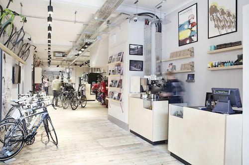 London S Newest Bike Shop Is A Stylish Stunner Bike Shop Trendy