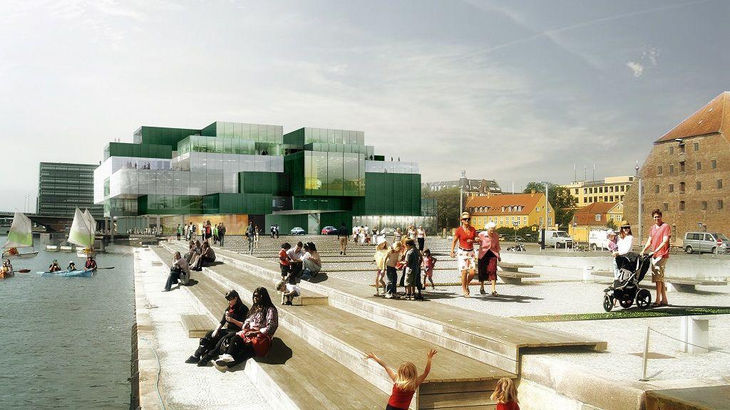 Blox Oma København Pinterest Plaza Arquitectura And Arquitectos