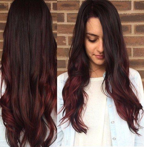 20 Cute Fall Hair Colors and Highlights Ideas | Cherry coke hair ...
