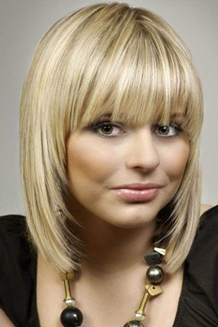 The Best Sight In Medium Length Hairstyles With Bangs For Thin Hair