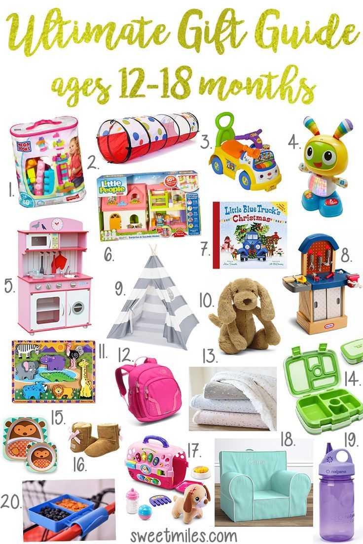 gift ideas for one year olds and toddlers, baby gift ideas