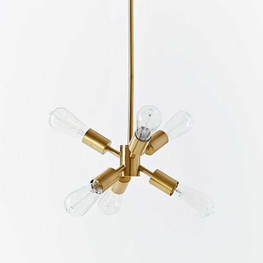 Mobile Home Light Fixtures: Mobile Chandelier - Small