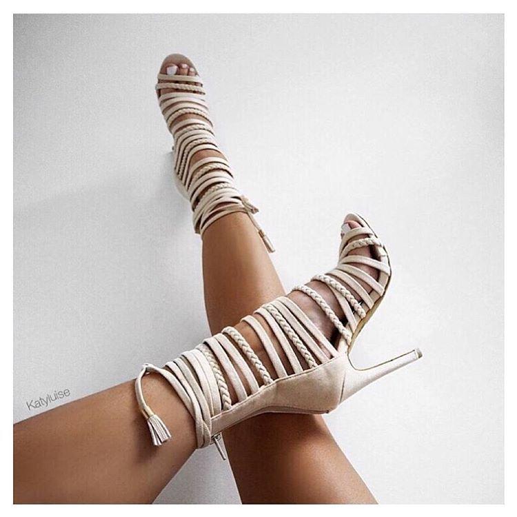 a6a132e3942e Strappy Feels  katyluise NADINE heels £29.99    43 Shop link in bio!   EGOSQUAD