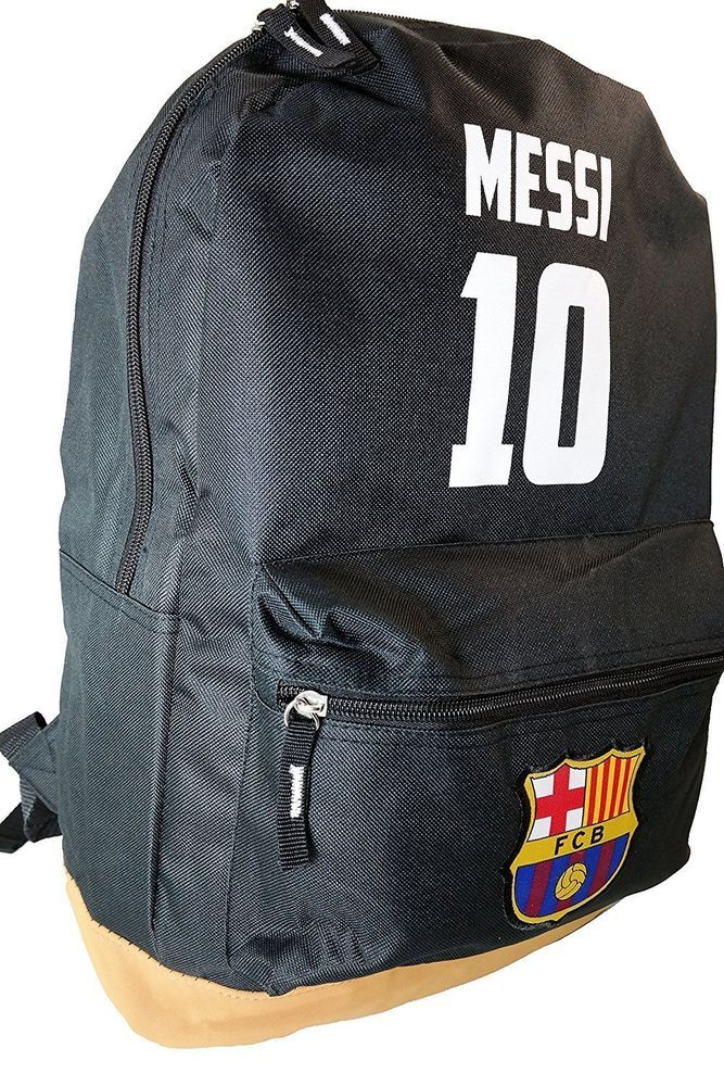 7023a05a6 Messi 10 backpack Black Brown school mochila bookbag cinch bag Fc Barcelona  #IconSport #FCBarcelona