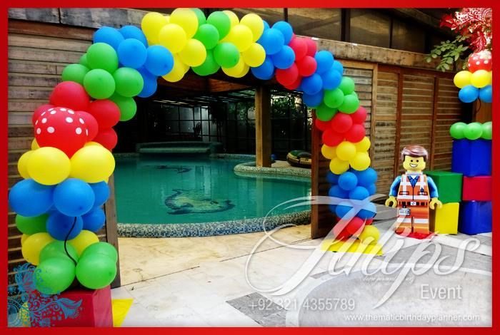 Lego Emmet Themed Birthday Party Planner in Lahore Pakistan