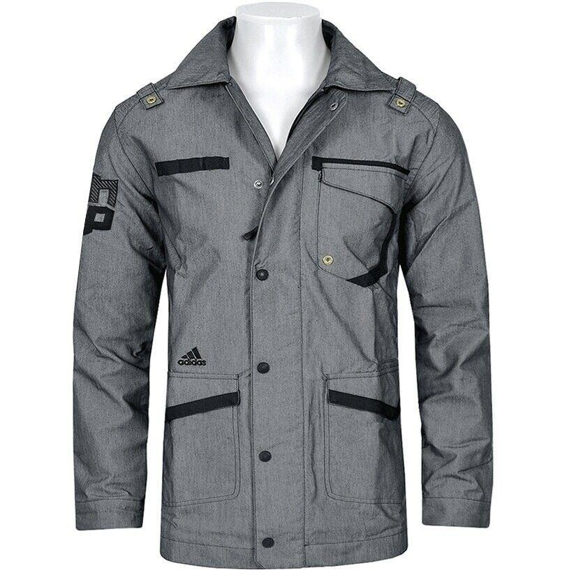 Adidas Dwight Jacket Herren Parka Jacke Mantel Trench Coat