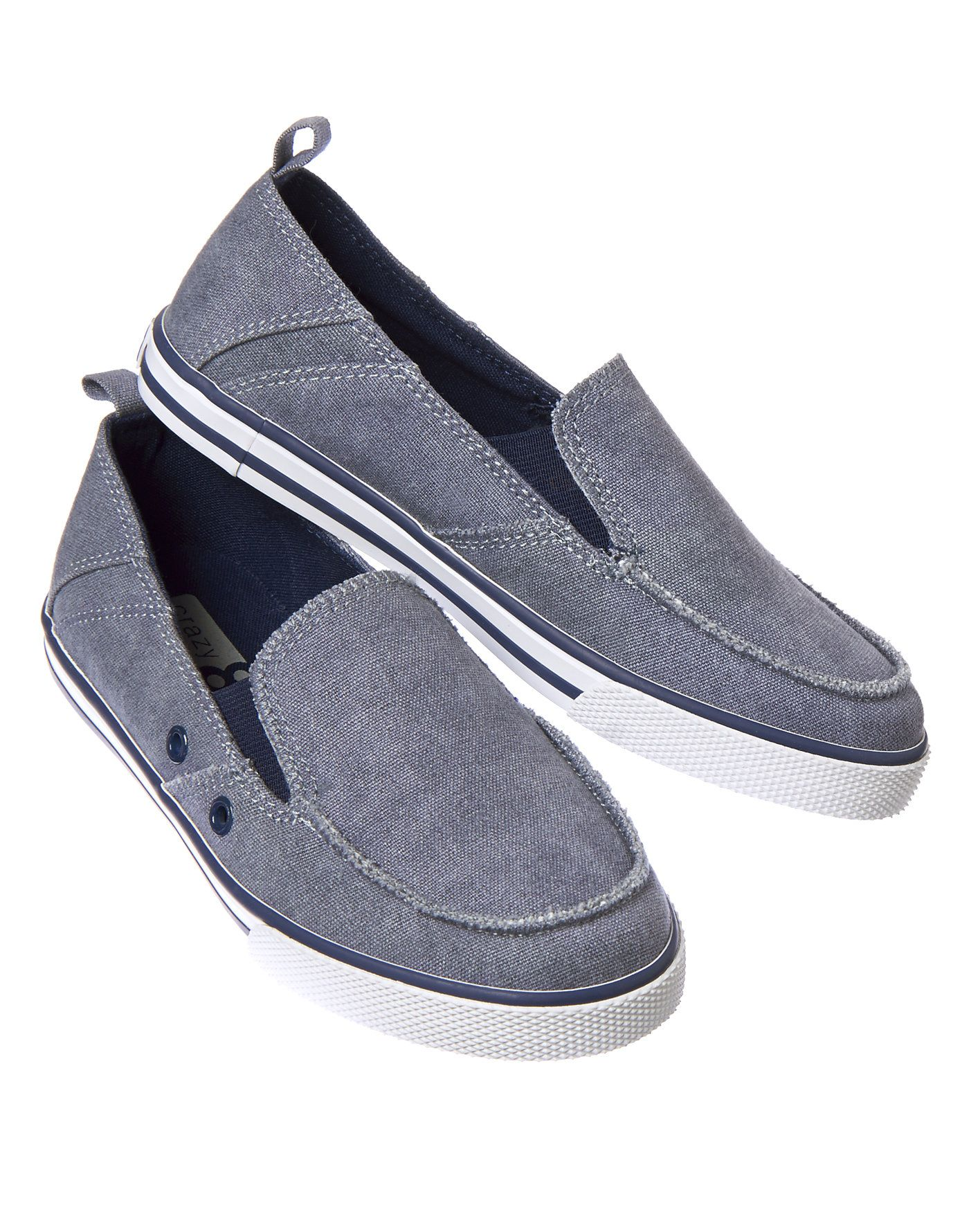Chambray Slip-On Sneakers at Crazy 8