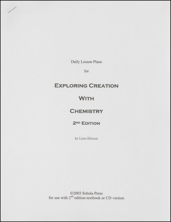 Daily Lesson Plans for Exploring Creation with Chemistry (2nd - copy tabla periodica nombre de los grupos