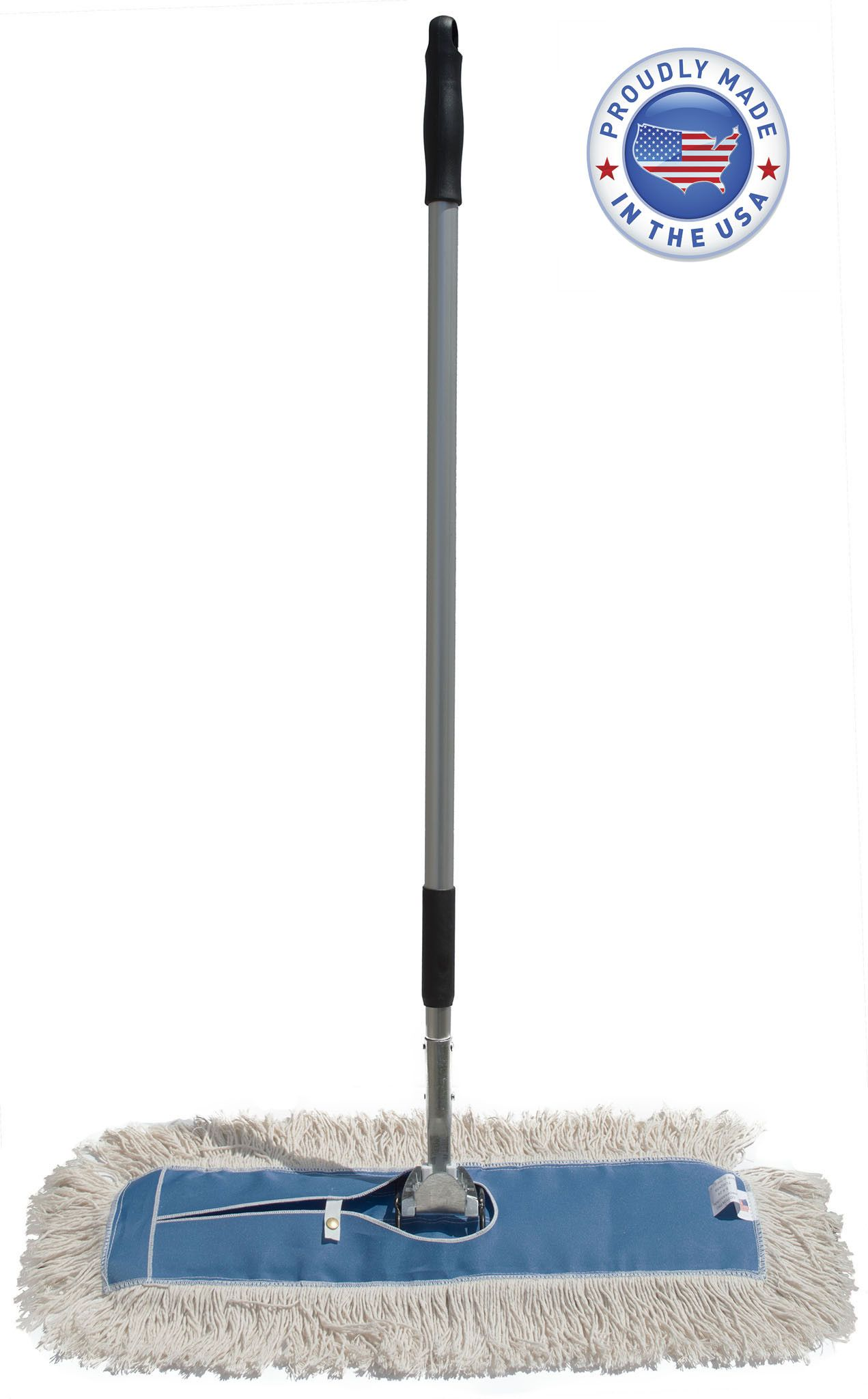 Cotton Dust Mop Floor Broom Kit Dust mop, Mops, Flooring
