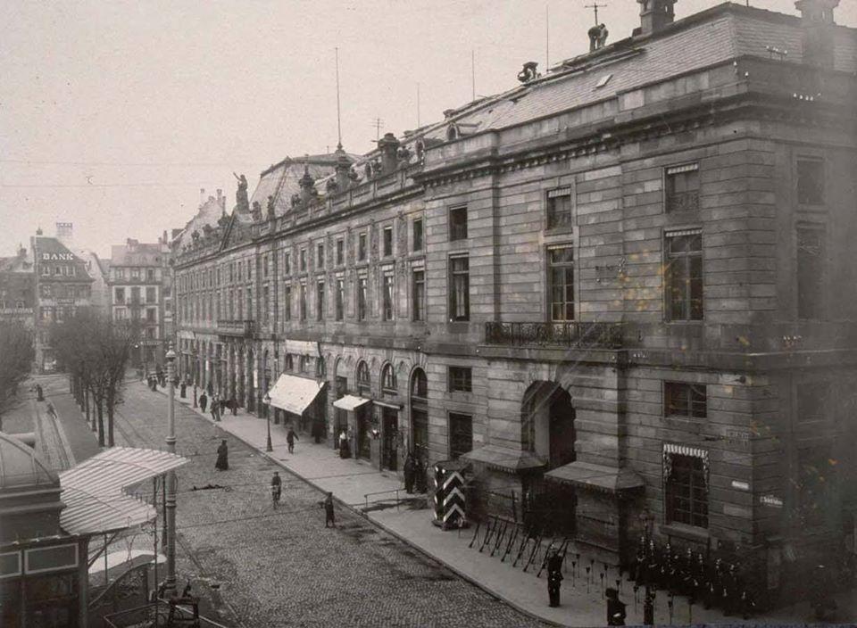 l'AUBETTE PLACE KLEBER STRASBOURG 1900