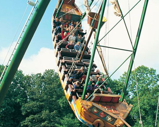 Image result for pirate ship ride at the fair