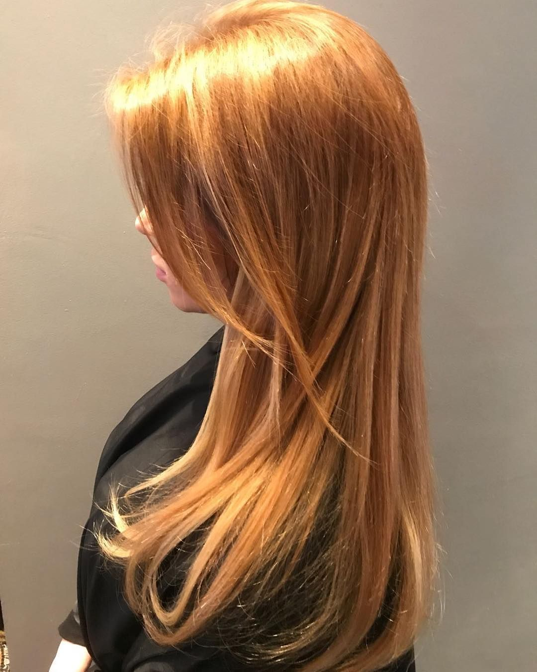 Perfect Hair Created With Balmain Hair Extensions And Coloured Using