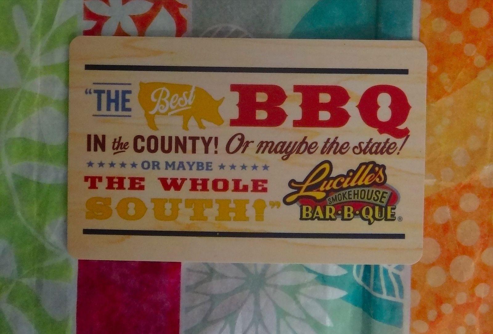 Lucille\'s Smokehouse Bar-B-Que Gift Card $50 BBQ Restaurant ...