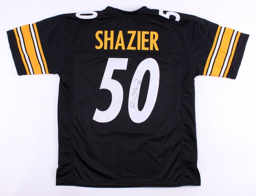 promo code b6fe7 c74d2 Ryan Shazier Signed Pittsburgh Steelers Jersey | pittsburgh ...