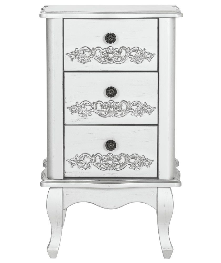 Buy sophia 3 piece 2 door wardrobe package white at for Bedroom furniture argos
