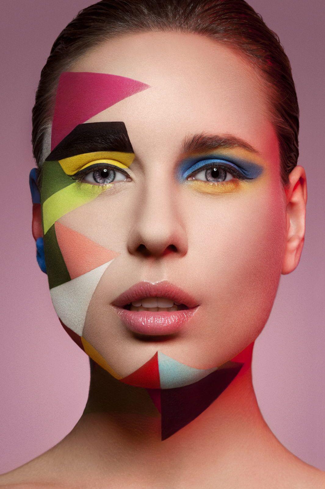 Pin de Maram en models pic Maquillaje artístico