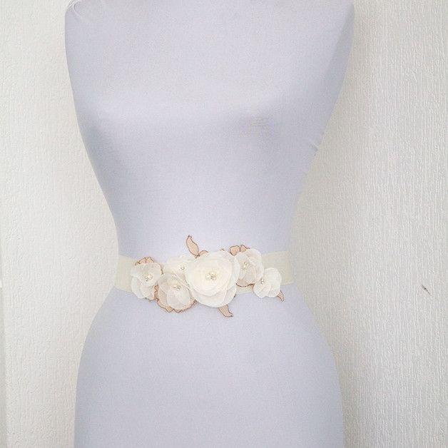 Vintage Brautgürtel, elfenbein, ivory , spitze N | Pinterest ...
