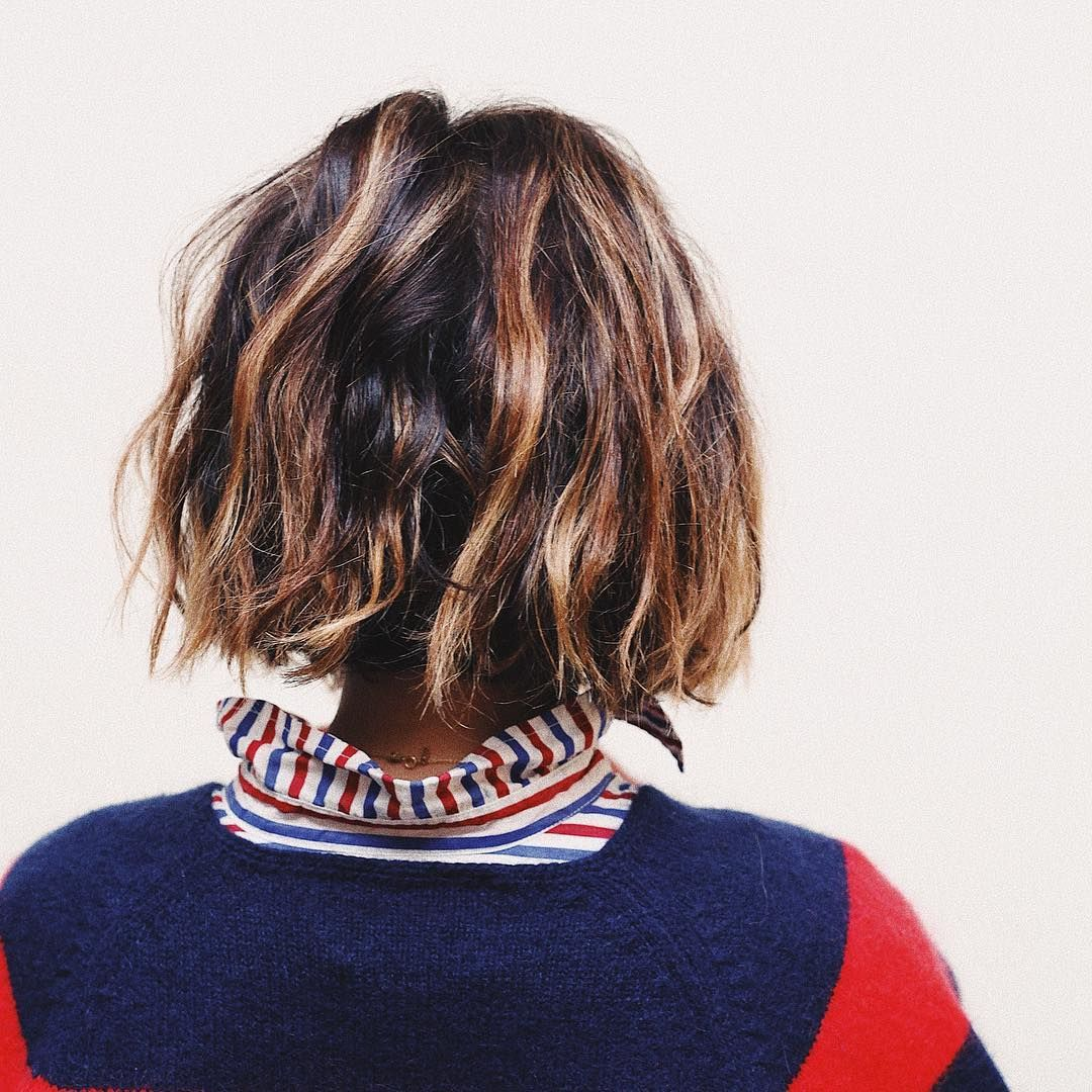 Ashley Streicher On Instagram Ever Notice How The Back Of Your Hair Usually Looks Way Cooler Than The Front It S Ca Short Sassy Hair Sassy Hair Hair Waves
