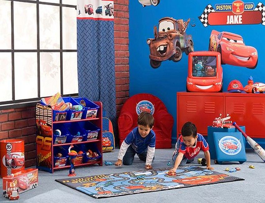 Cars Toddler Playroom Decor Ideas - Toddler Room Decor: Five Tips on ...