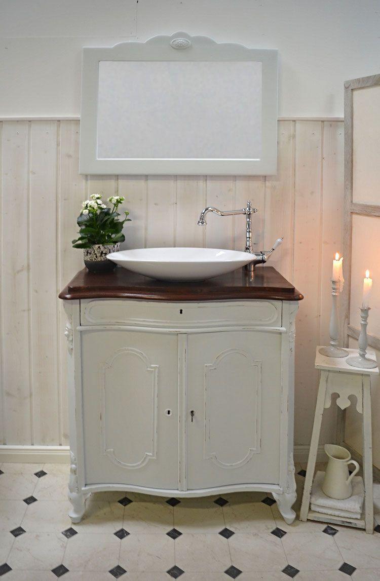Verkauft Pretoria Nostalgischer Waschtisch Von Badmobel Landhaus Land Und Liebe Shabby Chic Badezimmer Badezimmerideen Bad Einrichten