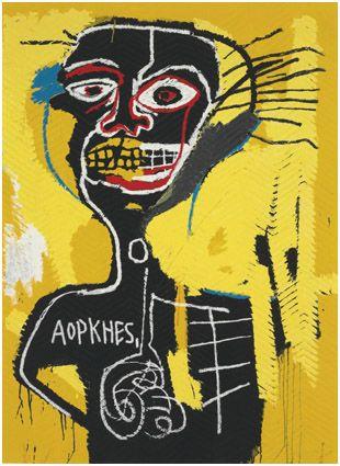 Cabeza - Basquiat