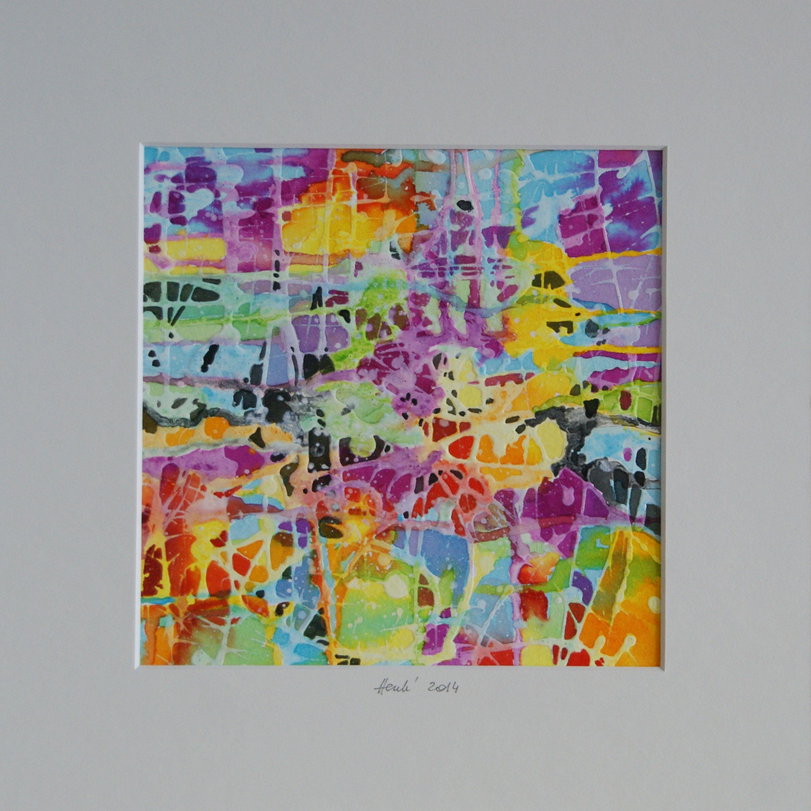 A'98, 30x30 cm, 2014 by Dorota Henk