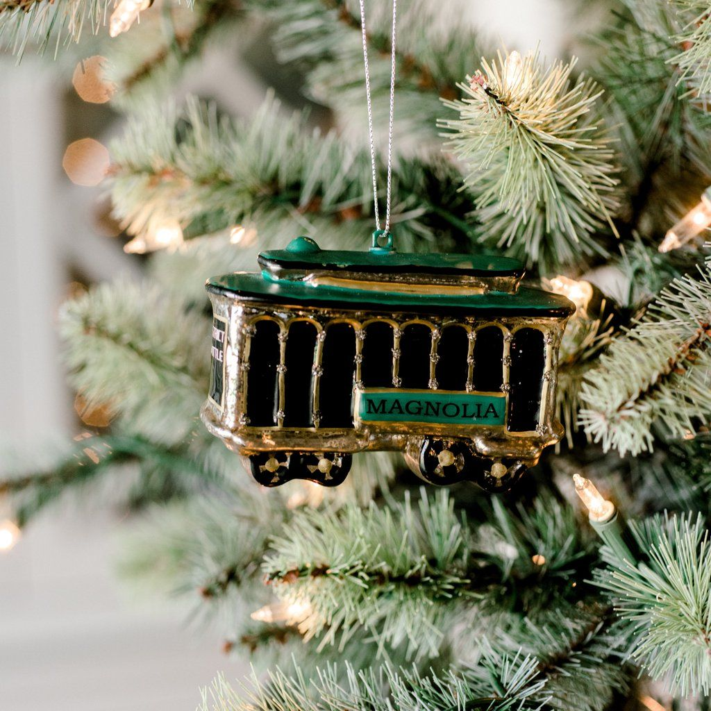 Chip And Joanna Christmas 2021 Magnolia Trolley Ornament In 2021 Coming Home For Christmas Christmas Decorations Magnolia
