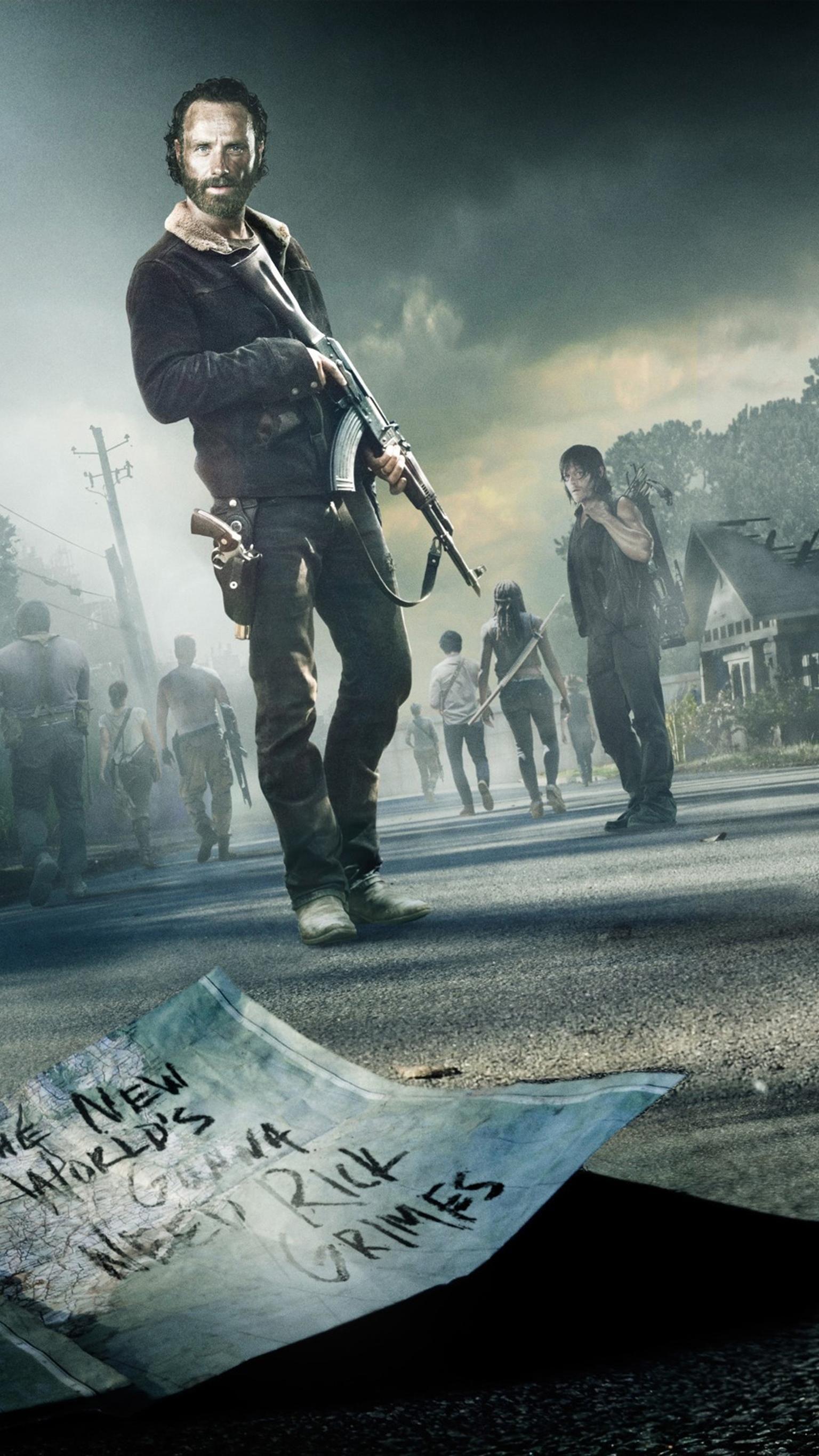 The Walking Dead Phone Wallpaper Walking Dead Wallpaper Walking