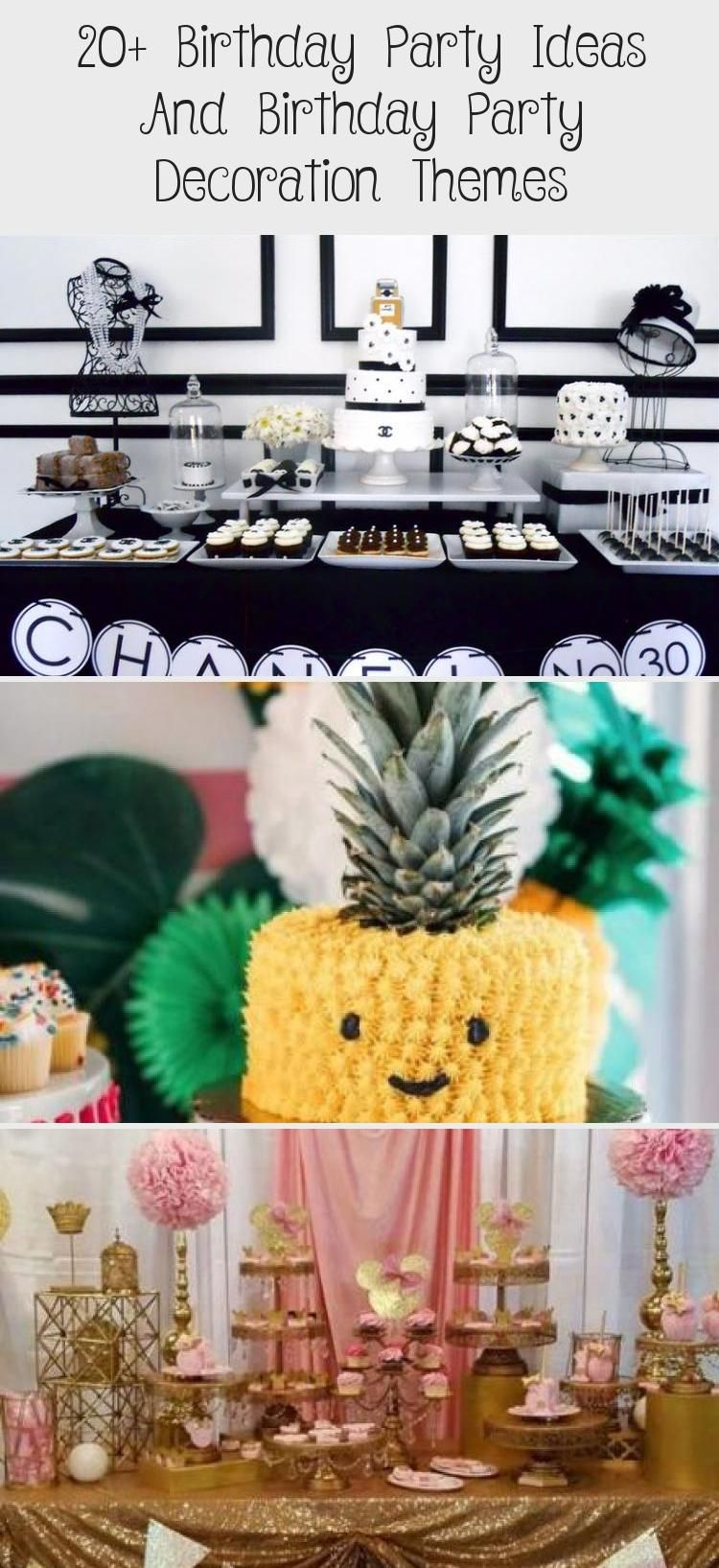 20+ Birthday Party Ideas and Birthday Party Decoration Themes — nettic #21stPa…