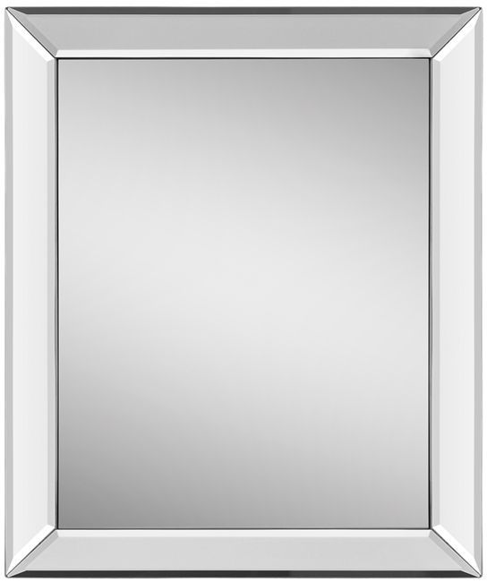 latrobe mirrored frame rectangular mirror - Mirrored Frame