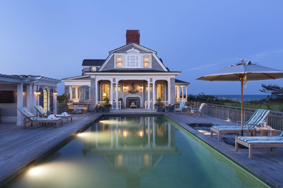 29 incredible pools shingle style homes hamptons house