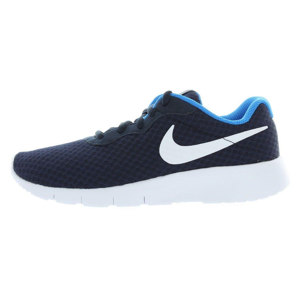 eBay  Sponsored Nike Kids Boys Obsidian Photo Blue (GS) Tanjun Running  Shoes Size 5Y Medium 51f0adfe7