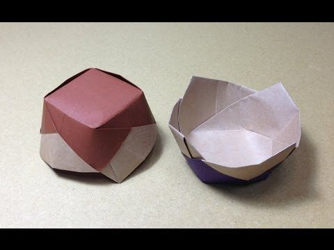 Origami Candy Dish Instructions | 360x480