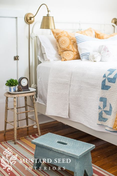 Pine Cone Hill 20th Anniversary Bed & Giveaway - Miss Mustard Seed