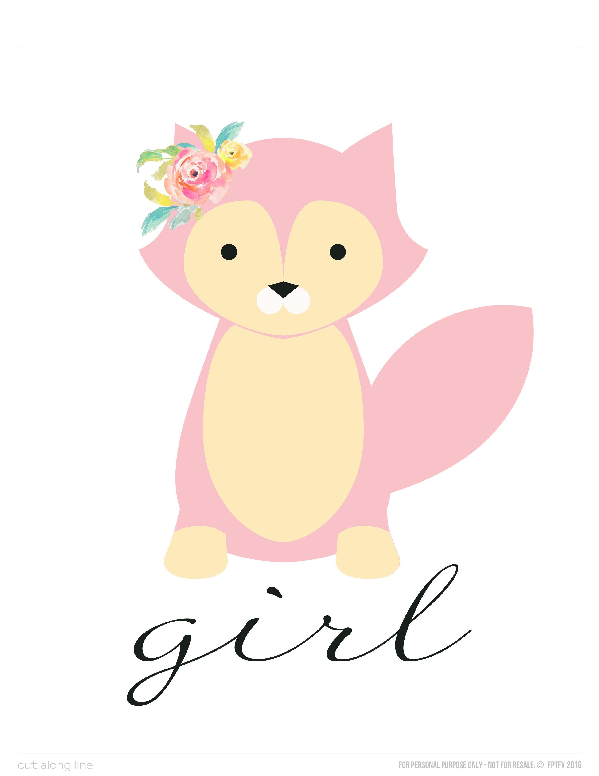 wall-art-foxy-girl-Free-8x10-fptfy-3.jpg (2550×3300) | appliques ...