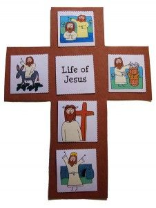 Easter Life Of Jesus Cross Children S Ministry Easter Crafts