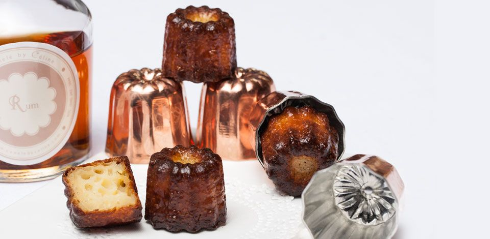 Canele by Celine- NY's first bakery devoted to Canele. Mini pastries