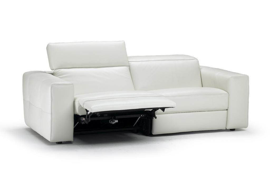 Brio Natuzzi Sacramento Contemporary Italian Furniture White