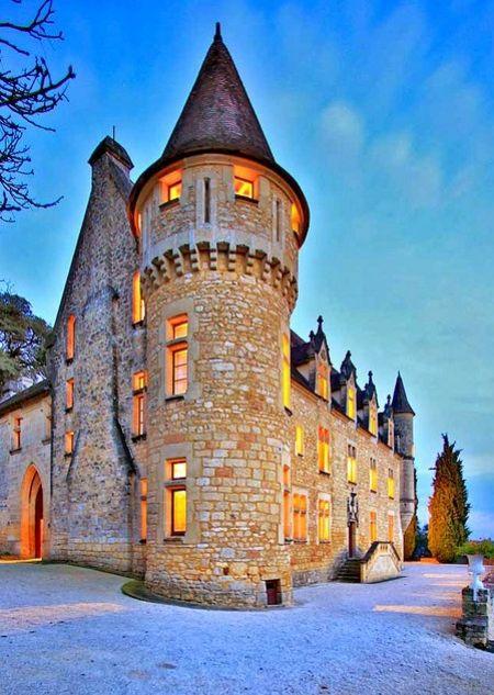 Château de Ruffiac in Périgord Noir, France.