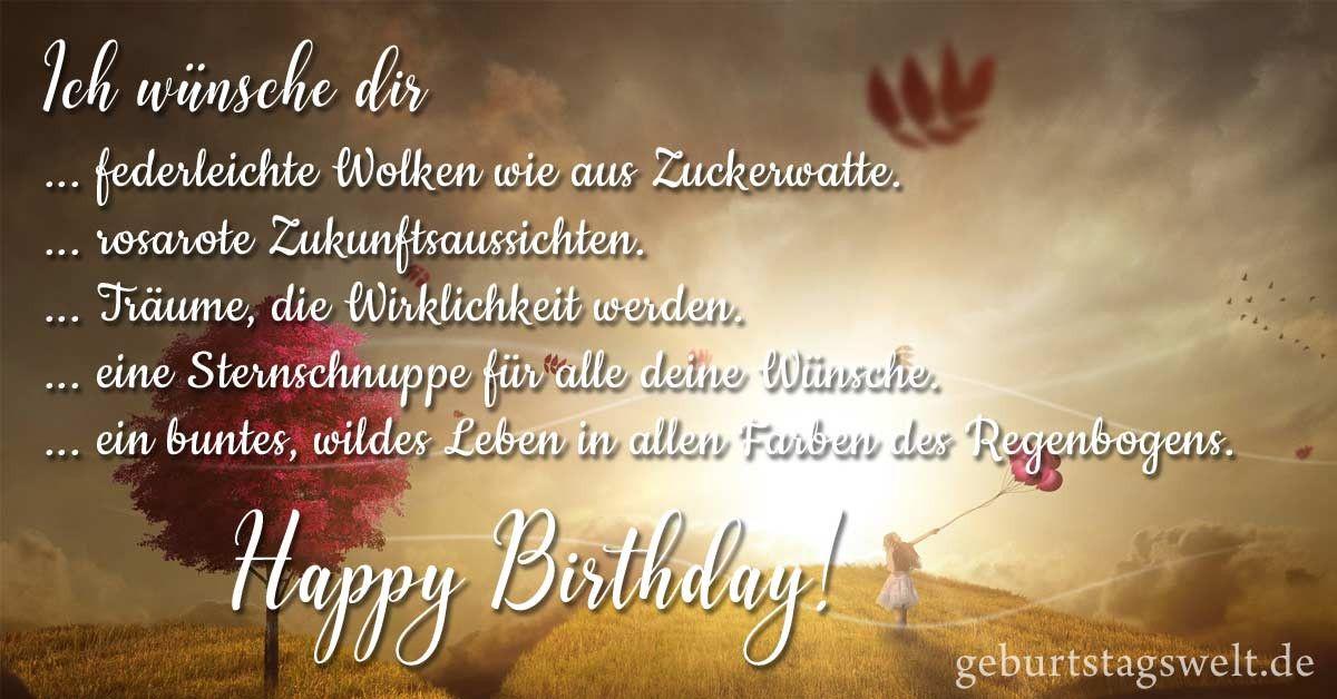 Geburtstagswünsche Sprüche