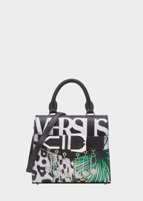 e428a2c05372 Versace Tropical Collage Iconic Buckle Bag