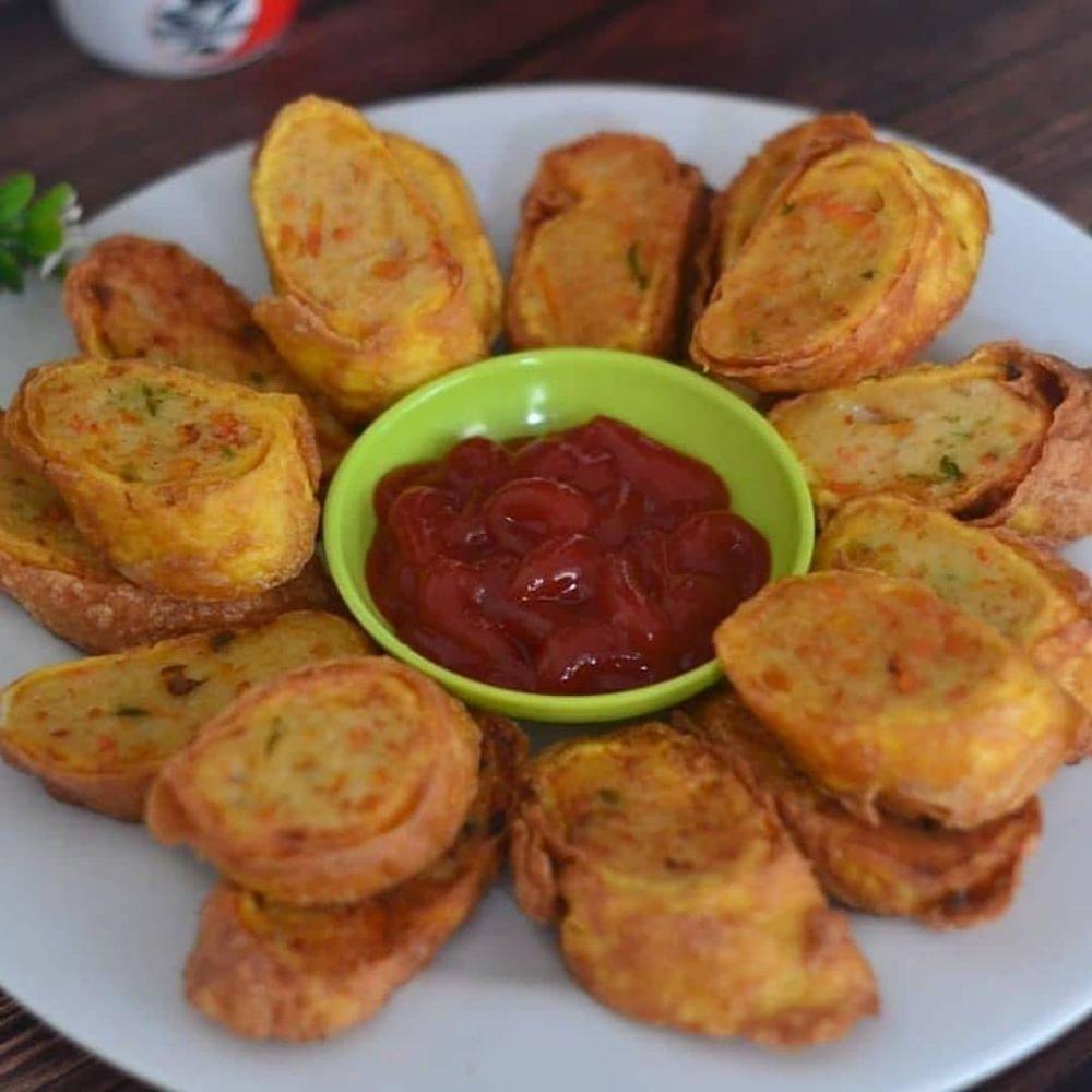 Resep Camilan Dari Bahan Sederhana Instagram Resep Makanan Makanan Ringan Pedas Resep Masakan