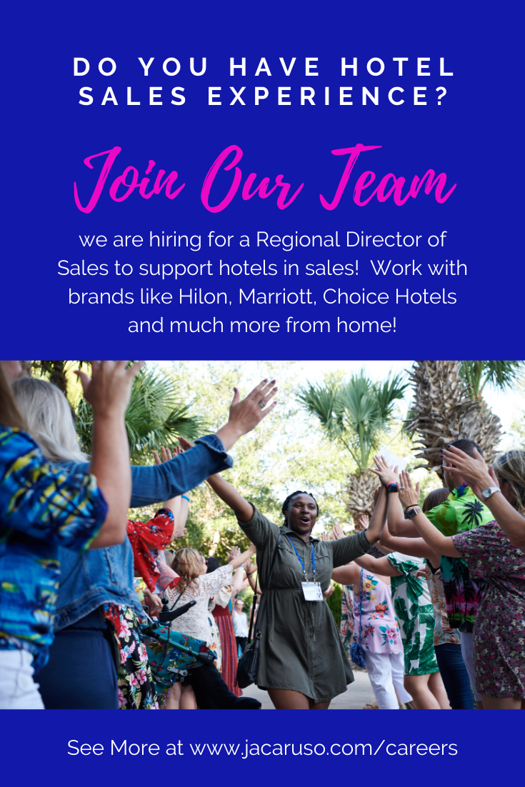 Do You Have Hotel Experience And Would Like To Work From Home Join The Team Of Regional Directors Of Sales At Jacaruso Hotel Sales Job Seach Leading Hotels