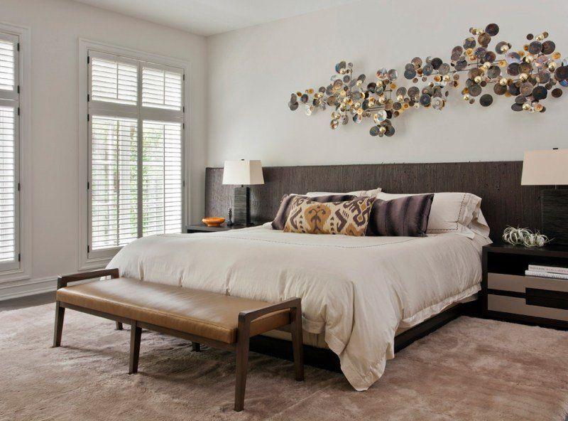 Tête de lit et déco murale chambre en 55 idées originales | Tete de ...