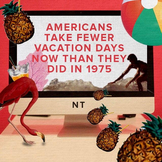 Vacation Work America Us Infographic Nowthis News Vacation Instagram Instagram Posts