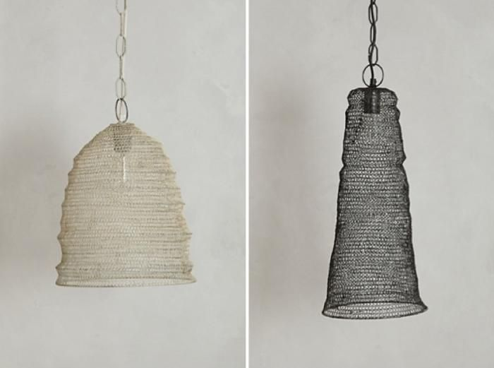 5 Favorites: Japanese-Inspired Mesh Pendant Lights   Beehive ...