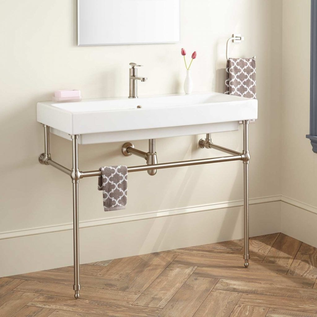 Bathroom Sink With Legs Console Sink Bathroom Console Console Sinks