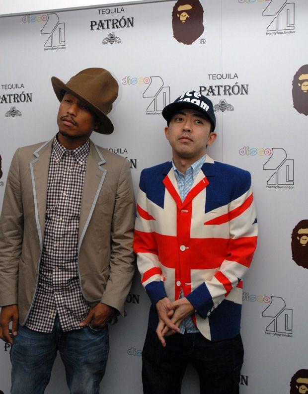 Pharrell and Nigo