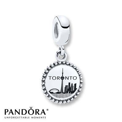 pandora toronto charms